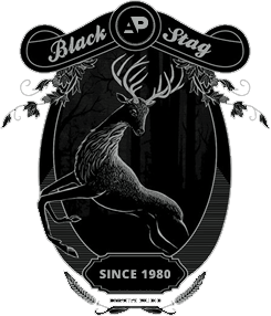 Black Stage since 1980 logo